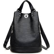 shoulder bags women s backpacks pu backpacks school college girl s backpacks