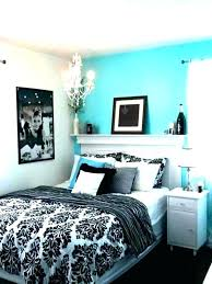 Black White And Teal Bedroom Ideas 2