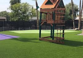 Artificial turf backyard Modern Artificial Grass Makes Backyards Fun Artificial Turf Backyards Archives Paradise Greens