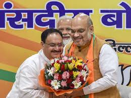 J P Nadda Appointed Bjp Working President Amit Shah To Remain Party