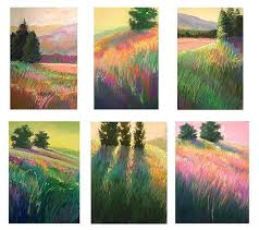 landscape painting in pastels chapter twenty three free yourself from the photo