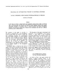 Pdf The Role Of Attribution Theory In Control Systems