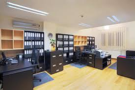 small office organization. Interior Of A Small Office Showing How Furniture Placement Can Maximize Space And Functionality Organization I