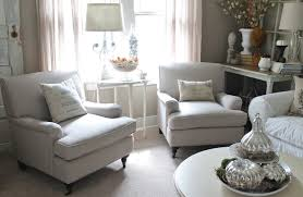 White Living Room Decorating Small Room Design Perfect Finishing Small Armchairs For Living