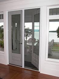 Diy Screen Door Kit French Doors With Retractable Screens French Door Screens