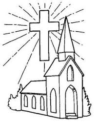 Small Picture Preschool Church Coloring Elegant Church Coloring Pages Coloring