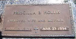 Priscilla Barnett Hollis (1913-1994) - Find A Grave Memorial
