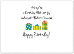 Birthday Business Cards Business Birthday Card Employee Birthday Cards