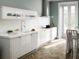 Small Long Kitchen Kitchen Small White Kitchens All White Kitchen Minimalist White