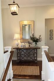 ideas for foyer furniture. paint color for foyer and hallways is benjamin moore oc50 november rain ideas furniture t