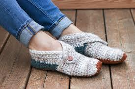 Free Crochet Slipper Patterns Awesome Womensfreecrochetslipperspattern48 Make Do Crew