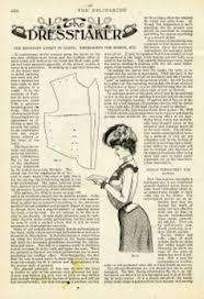 free printable victorian dressmaker las fashion book page