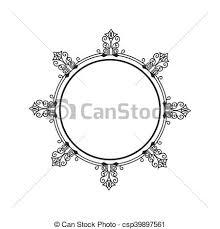 border frame victorian. Border Frame Ornament - Csp39897561 Victorian N