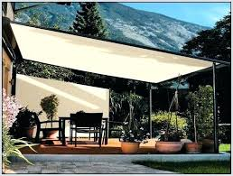 sail shade best sun sails images on patio posts