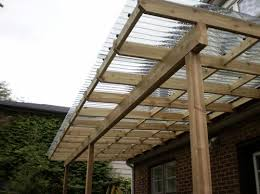 pergola roof ideas most recommended design oak polished finish wooden posts crossbeams rafters clear glass top cover decoration pergola with clear roof o35