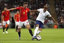 Image result for inggris vs spanyol uefa