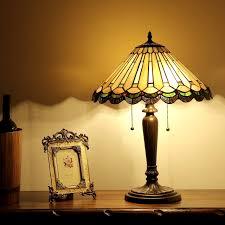 chloe lighting inez tiffany style 2 light mission table lamp
