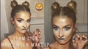 easy lion makeup hair