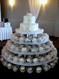 2 Tiered Wedding Cake Cupcakes Mini Cakes Cakecentralcom