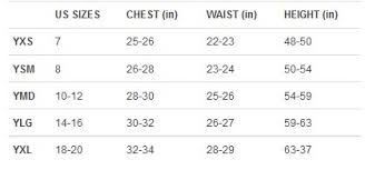 Under Armour Clothing Size Chart Cheap Under Armour Clothing Size Chart Buy Online Off53