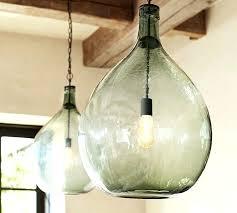 pendant lights enchanting oversized lamp large contemporary lighting blue glass light globe