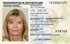 German Card Id European No – Citizen Electronic Card New Big Is id R f ecc Here Rfid Brother