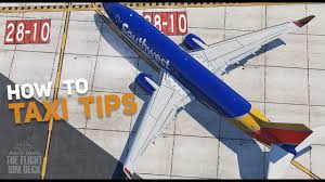 The Flight Sim Deck Taxi Tips Understanding Signs