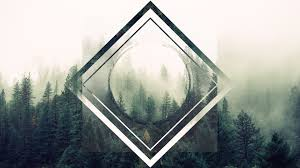 hipster wallpaper concept trees