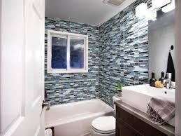 Mediterranean Bathrooms HGTV - Glass tile bathrooms