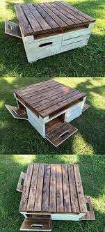 Pallet Furniture Etsy Discussion Related To Mixed Wood With Angle Iron Coffee Table Total