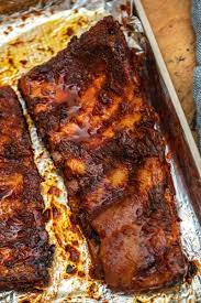 tender oven baked bbq ribs that fall