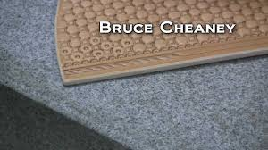 leather craft how to basket stamp designs with leather craftsman and saddle maker bruce cheaney