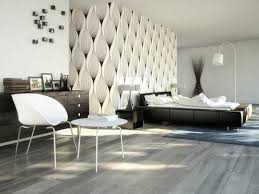 bedroom modern white. Stylish Modern White And Black Bedroom With Very Light Wood Flooring D