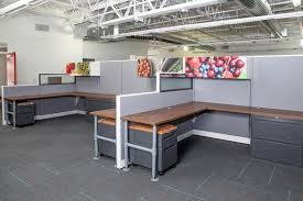 cool office cubicles. Beautiful Cubicles Cool Office Cubicles With Glass U0026 Industrial Modern Chic  Refurbished  Glass In Office Cubicles T