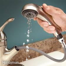 simple fixes for a pull out faucet