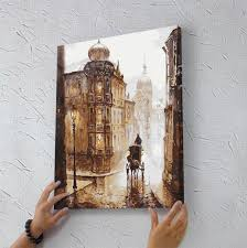 40 50cm stretched and framed art work hand painted canvas painting by numbers diy digital cuadros decoracion oil painting in painting calligraphy from