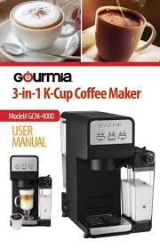Gourmia's coffee makers have a handful of convenience functionalities. Gourmia Gcm4000 Single Serve Coffee Maker