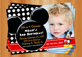 mickey mouse clubhouse invitations for special birthday party mickey mouse clubhouse red and black mickey mouse invitation birthday