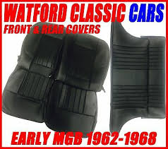 mgb gt roadster seat covers front