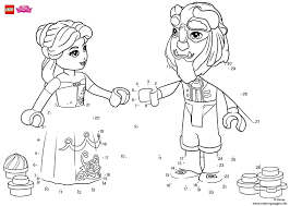 Small Picture Have fun completing the drawing of Beauty and The Beast lego