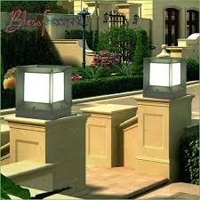 lighting solar garden lamp post lights australia modern minimalist european style waterproof outdoor lights aluminum