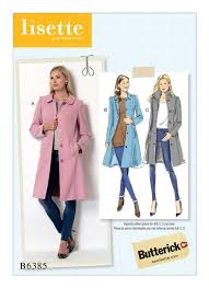 Coat Sewing Patterns Enchanting Butterick Sewing Pattern By Lisette B48 Misses' FunnelNeck