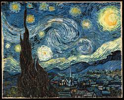 qi in modern art vincent van gogh and jackson pollock the starry night org
