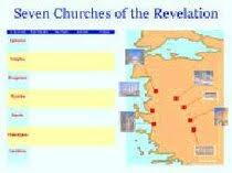 Seven Churches Of Revelation Chart Wall Chart Seven Churches Of The Revelation