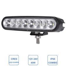 24 Volt Truck Led Lights 40 W 6 Drl Led Work Light Bar 12 V 24 V Combo Offroad Auto