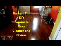 Budget Tip: DIY Laminate Floor Cleaner And Review!!   YouTube
