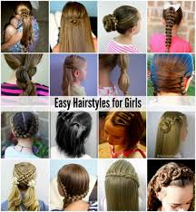 Easy Hairstyles On The Go Ideas About Easy Hairstyles For Girl Hairstyles For Men