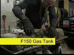 ford f150 fuel tank removal service how to diy