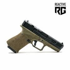 agency arms glock 19 gen 3 od frame bonesaw