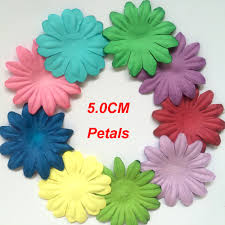 com buy cm craft paper petals embellishments paper  com buy 5 0cm craft paper petals embellishments paper flowers for scrapbooking from reliable paper art flower suppliers on scrapbook